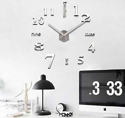 KEANER Lovely Gift Creative Minimalist Wall Clock Wall Sticker