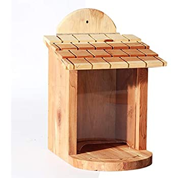 Wild Bird Table Feeder Wooden Feeding Station Seeds Nuts Fat Balls Traditional
