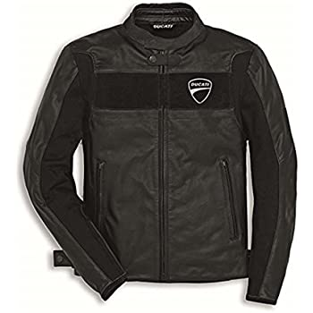 Amazoncom Ducati Mens Company C2 Perforated Leather Jacket