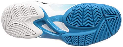 Turquesa 39 Superficies Wave Exceed 3 Zapatillas Las Todas De Tenis Zapatilla Mujeres Mizuno Tour Blanco wqA176w
