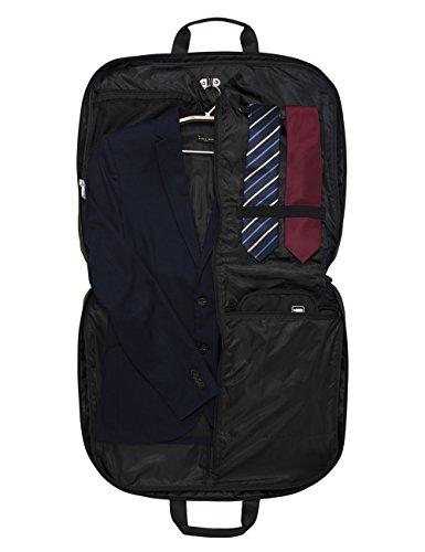 Bagsmart travel carryon folded garment bag for suits and for Wedding dress travel bag
