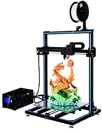 ADIMLab Gantry 3D Printer 90% Assembled I3 3D Printing Size 310X310X410  with 24V Power Heat Bed Glass Control Box Filament Detector Light on Head  and