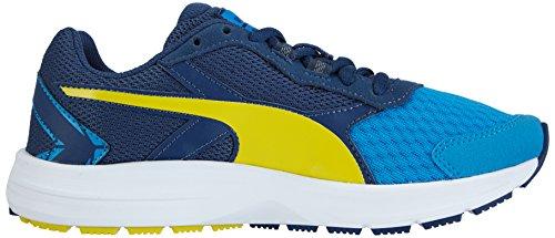 Puma Descendant v3 Jr - zapatilla deportiva de material sintético Azul  (cloisonné-poseidon-sulphur spring 01)