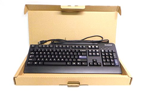 Genuine 54Y9400 Lenovo IBM Preferred Pro USB Wired Black Computer Work Home Office Keyboard Compatible Part Numbers: 41A5289, SK-8825, 54Y9400, KB1021