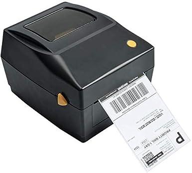 Impresora de etiquetas Impresora térmica de etiquetas Puerto USB Label Printer Máquinas de etiquetado para etiquetas de envío 4x6, Ebay, Etsy, ...