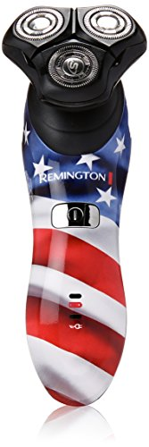 Remington Products Lithium Powered Rotary Shaver, American Pride, XR1340PATR