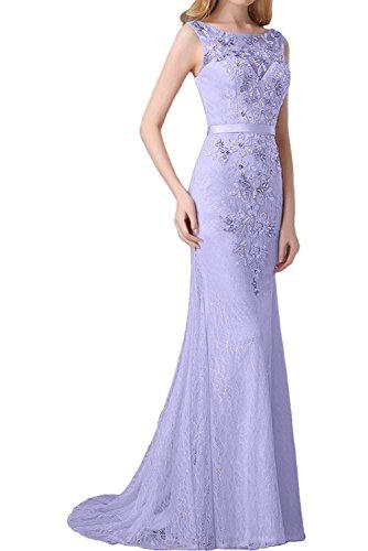 mia Lilac Blau La Damen Brautmutterkleider Jugendweihe Hell Spitze Kleider Langes Braut Mit Schleppe Abendkleider Etuikleider Tqqd6fwWHp