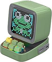 Divoom Ditoo Programmable Pixel Art LED Bluetooth Speaker Showing Clock Emoji DIY Design for Home Wedding Part