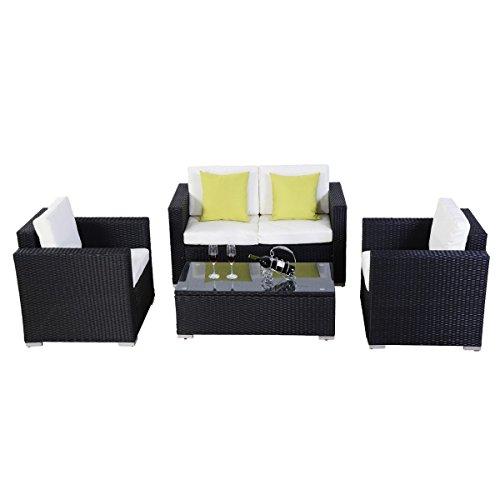 Indoor Rattan Sofa Set