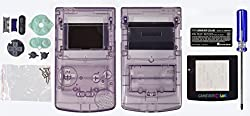 Game Boy Color [Gbc] Replacement Caseshellhousing [Atomic Purple] [Mortoff Games]
