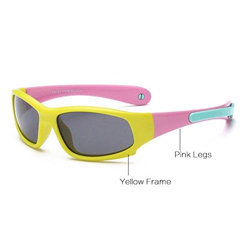 Pynxn Gafas de Sol Ni?os Ni?as polarizado los vidrios de Sun ...