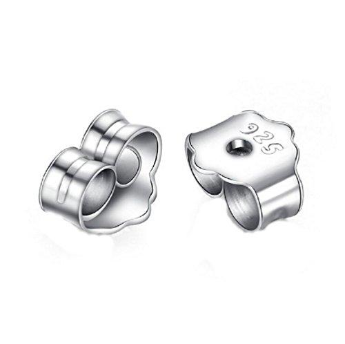 Newtripod Sterling Silver Earring Earnuts