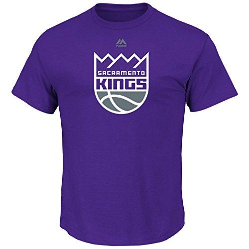 Mens Logo II Short Sleeve Crew Neck Tee – Sacramento Kings – Sports Center Store