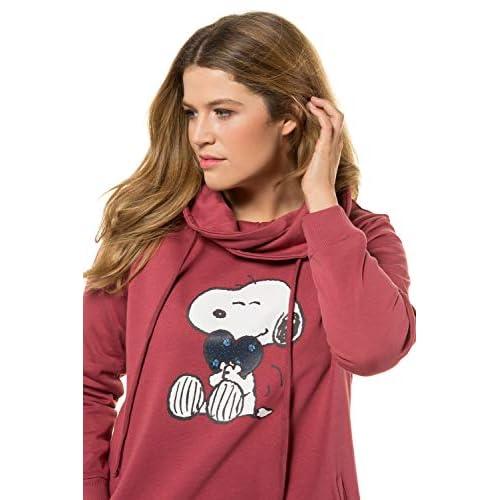 Ulla Popken Damen große Größen bis 64, Sweatshirt mit XL