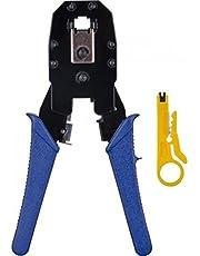 Alicate para Crimpar RJ45/RJ12/RJ11 com Chave Keystone + Desencapador de, Hyx, Outros acessórios para notebooks