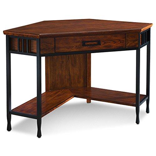 Leick 11230 Iron craft Corner Computer/Writing Desk
