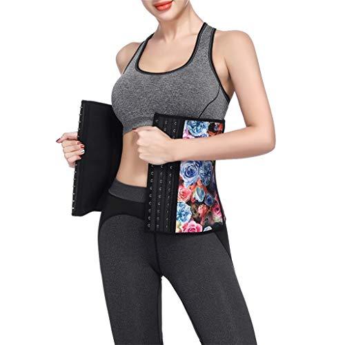 Allywit Women Petite Steel Boned Waist Trainer Underbust Corset Short Torso Mesh Body Shaper by Allywit (Image #5)