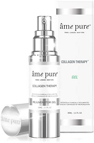 âme pure Collagen Therapy Gel 100% Natural Treatment to Reduce Pores and Smooth Fine Lines with Betox-93 Active Ingredient (30ml)