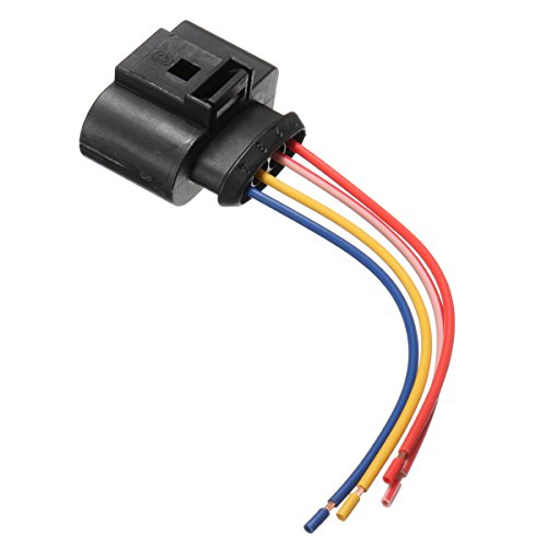C-FUNN OEM Ignition Coil Connector Plug Pack Wiring Loom for Audi VW Sk0da Seat F0rd: