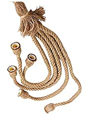 Retro Hemp Rope Chandelier seat AC85-265V/3/4/5 Head attic Personality Industrial Chandelier Edison Chandelier