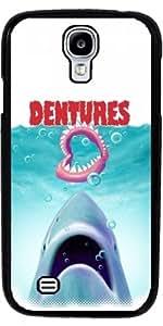 Funda para Samsung Galaxy S4 Mini (GT-I9195) - Dentadura Postiza by Adam Lawless