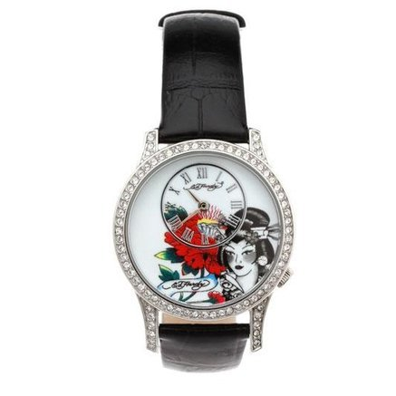 Ed Hardy EL - WB Elizabeth Watch - Black