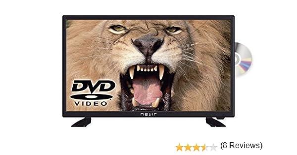Nevir - TV Led 24 Nvr-7412-24Hd-Dvd-N, HD, 12V, DVD Incorporado ...