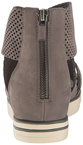 Eileen Fisher Women's Sport2-Nu Flat Sandal, Graphite, 10 M US by Eileen Fisher (Image #2)