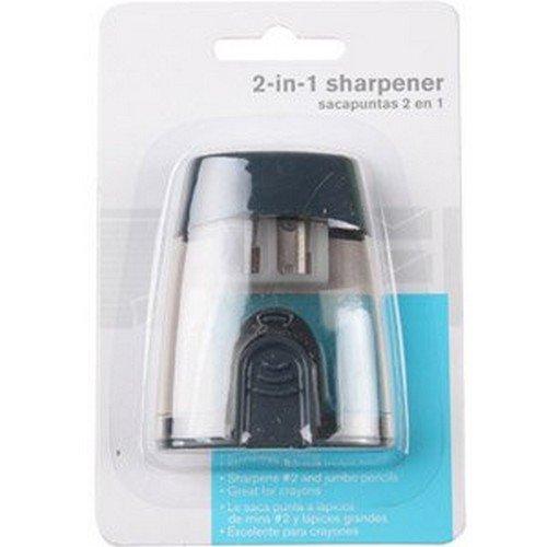 WALMART 2-in-1 Sharpener, 3 Piece (Walmart Pencil Sharpener)
