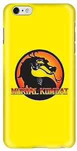 Stylizedd Apple iPhone 6 Plus Premium Slim Snap case cover Gloss Finish - Mortal Kombat I6P-S-189