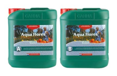 CANNA Aqua Flores A Plus B (Flower), 5 L Set ()