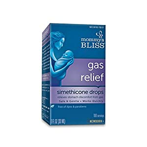Mommy's Bliss Gas Relief Drops, 1 Fluid Ounce by Bliss By Mom