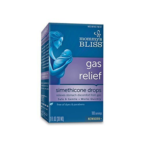 Mommy's Bliss Gas Relief Drops for Infant Tummy Troubles - Fast Acting to Ease Newborn Stomach Bloating- 1 fl Oz