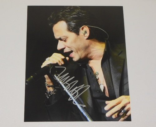 Marc Anthony Iconos Signed Autographed 8x10 Glossy Photo Loa