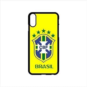 Fmstyles - iPhone X Mobile Case - Brasil Football team Fan 2018