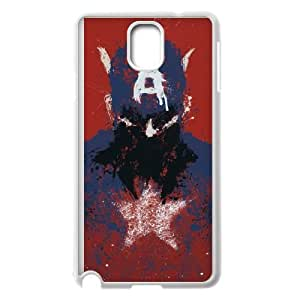 Samsung Galaxy Note 3 Cell Phone Case White Captain America D2305545