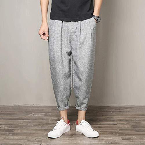 De Fête Petit Court Épaule Et Pour Sosofish Polyester Homme Sport Grau Crayon En Vêtements Pantalon qwUXOx8Wx
