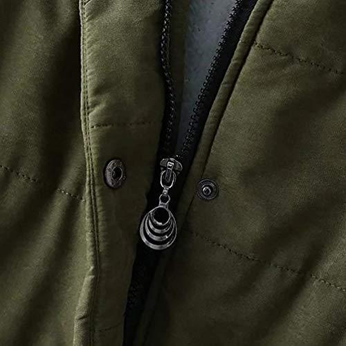 Incappucciato Casual Cappotto Tasche Donna Manica Giacca Autunno Mode Con Cappotti Cerniera Trapuntata Invernali Vintage Inverno Di Rosa Lunga Marca A Chiusura Elegante Giacche HOZ7qgHw