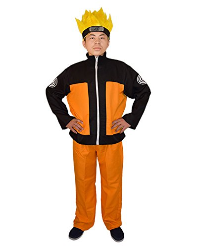 Ideas For Book Week Costumes (UU-Style Naruto Shippuden Naruto Uzumaki Cosplay Costume Coat Pants Outfit)