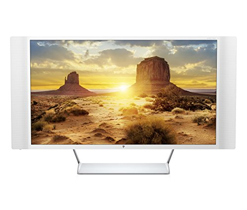 "HP -"" LED 4K UHD Monitor Silver spectre 32"