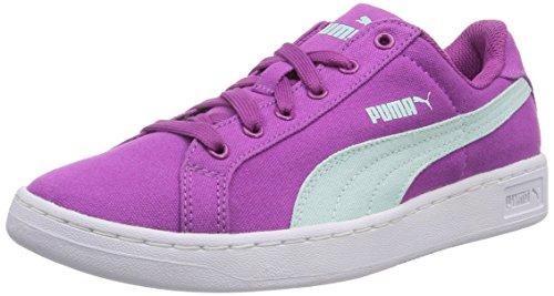 Puma Puma Smash CV Jr - zapatilla deportiva de lona infantil Violeta - Violett (vivid viola-bay 03)