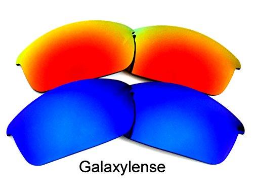 Femmes Galaxylense Remplacement Oakley Rouge Ou Et Bleu Flak De Lentilles Hommes Pour r8wT8