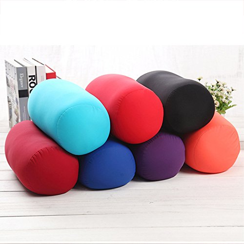 Daynecety Micro Bead Roll Pillow Cushion Bolster Microbead