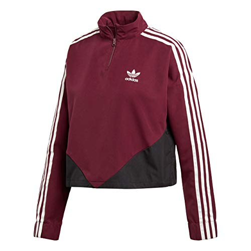 Adidas W Clrdo Sweater Bordeaux Top Track Femme wfwr8gq5