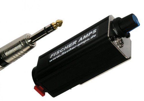 Fischer Amps001127 Mini Body Pack 1/4-Inch Jack Headphone Amplifier