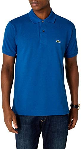 nowe tanie wykwintny design kupić Lacoste Men's L.12.12 Polo Shirt S Bleu (Electrique): Amazon ...