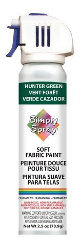 Simply Spray Soft Fabric Paint 2.5oz-Hunter Green by Simply Spray