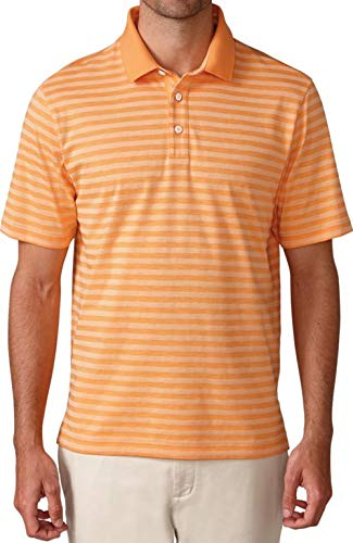 Ashworth Slub Heather Stripe Golf Shirt