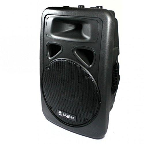 600 Watt PA Box Skytronic 30cm (12 Zoll) Speaker ABS-Gehäuse robust