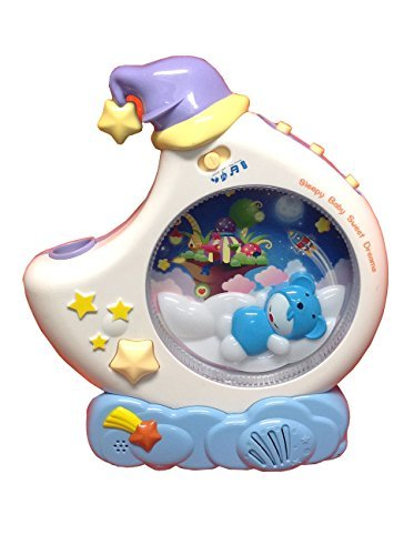 Baby Sweet Dream Crib Soother with Ceiling Projector by Buddy Fun